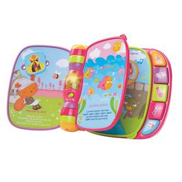 Vtech Do, Re, Mi super livre enchante rose
