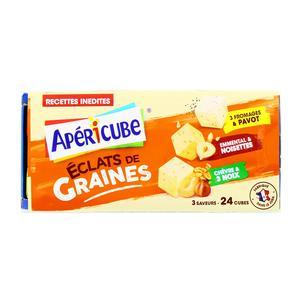 Apéricube Graines et Fromages