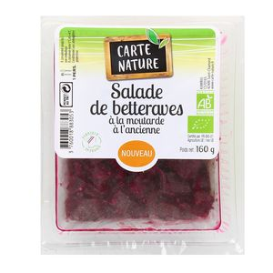 Carte Nature Salade de betterave, Bio