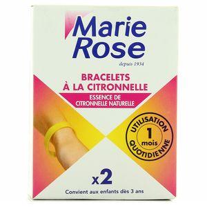 Marie Rose Bracelets à la citronnelle à partir de 3 ans