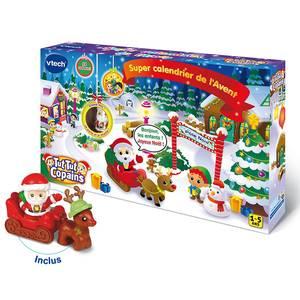 Vtech Tut Tut Copains- Super calendrier de l'Avent du Père Noël