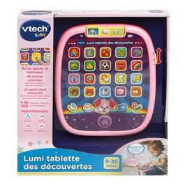 Vtech Lumi tablette des découvertes rose