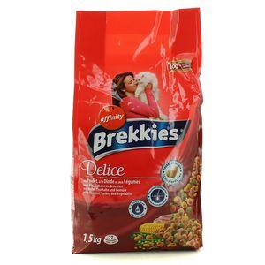 Brekkies Excel Délices au poulet, à la dinde et aux légumes