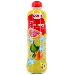 Cora Sirop d'agrumes