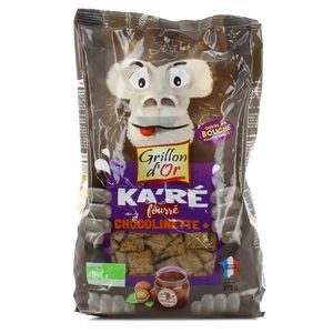 Grillon Or Ka'ré fourré choco chocolinette bio