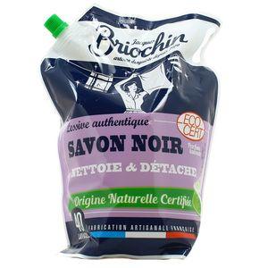 Briochin Lessive liquide au savon noir parfum lavande Ecocert 40 lavages