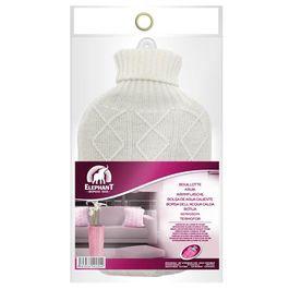 Bouillotte tricot,ELEPHANT,