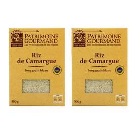 Patrimoine Gourmand Riz blanc de Camargue