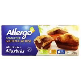 Allergo Mini cakes marbrés sans gluten et sans lactose