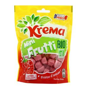 Krema Bonbons mini frutti fraise bio sans gélatine