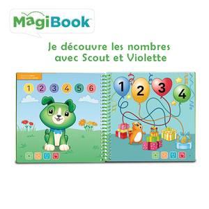 Vtech Magibook- Je découvre les nombres avec Scout et Violette