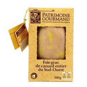 Lobe de Foie gras de canard entier ,PATRIMOINE GOURMAND,300g
