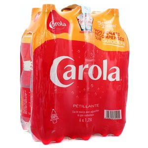 Carola rouge Eau gazeuse minérale naturelle