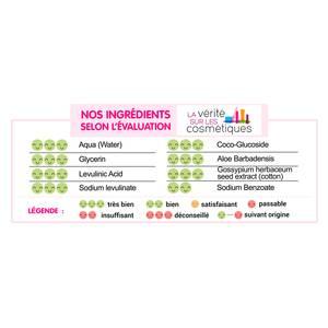 Carryboo  Lingettes Dermo-Sensitives à l'extrait de coton Bio