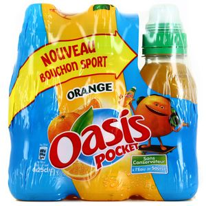 Oasis Orange (bouchon sport)