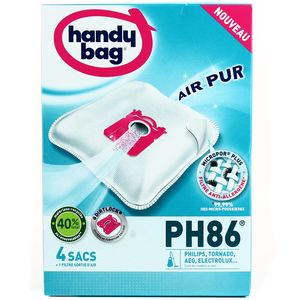 Handy Bag Sacs aspirateur PH86- AEG, Electrolux, Philips, Tornado