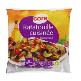 Cora Ratatouille cuisinée avec sauce