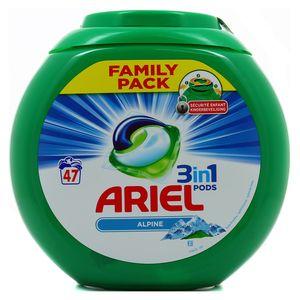 Ariel Lessive alpine 3en1 Pods