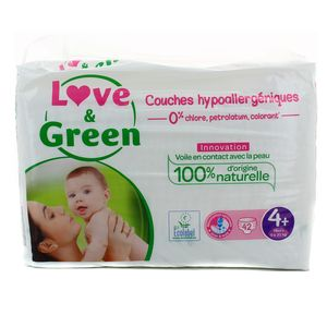 Love & Green Couches écologiques T4 + 9/20kg