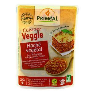 Priméal Haché végétal soja bio façon bolognaise pour farce et garniture