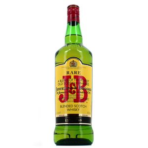 J and B Blended scotch whisky 40°