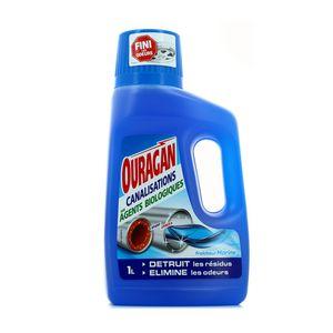 WC net Ouragan canalisations aux agents biologiques fraîcheur marine