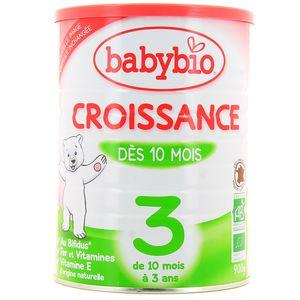 Babybio Lait de croissance en poudre bio dès 10 mois
