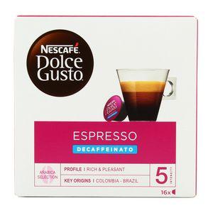 Nescafe Dolce Gusto Espresso décaféiné