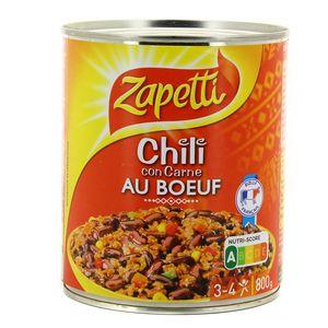 Zapetti Chili con carne