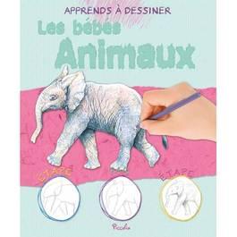 Apprends a dessiner- Les bebes animaux