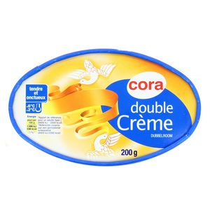 Fromage double crème 30% Mat.gr ,CORA,200g