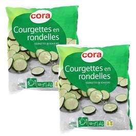 Cora Courgettes en rondelles