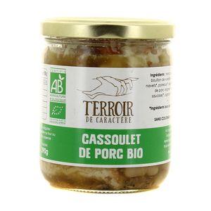 Terroir de Caractère Cassoulet de porc Bio