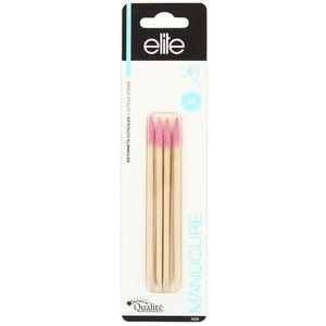 Elite Models Bâtonnets cuticules bois