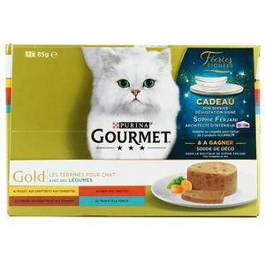 Gourmet Gold Les Terrines aux Légumes Multivariétés