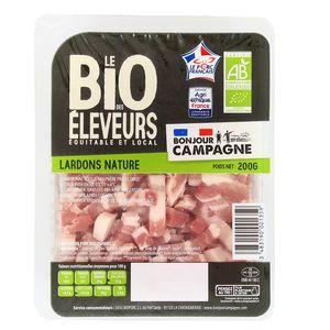 Bonjour Campagne Lardon Nature, Bio