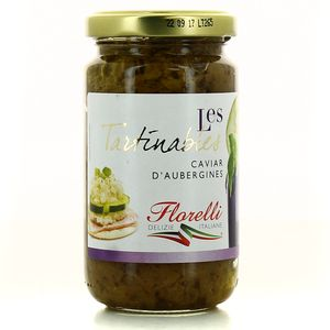 Florelli Tartinable caviar d'aubergines