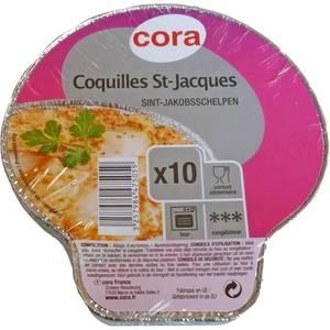 Cora Barquette coquille saint jacques Aluminium