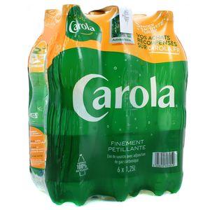 Carola verte Eau gazeuse finement pétillante