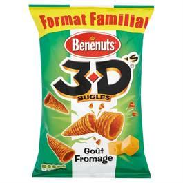 Benenuts Biscuits apéritifs goût fromage 3D