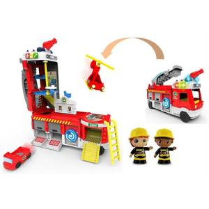 Tut Tut Copains - Vtech Super camion pompiers interactif- Tut Tut Copains