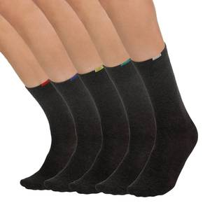 Dim 5 paires de mi-chaussettes grises EcoDim