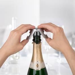Trudeau Bouchon à champagne Chrome