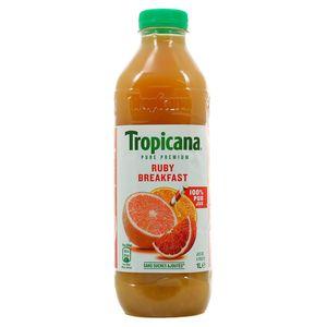 Tropicana Pur jus ruby breakfeast