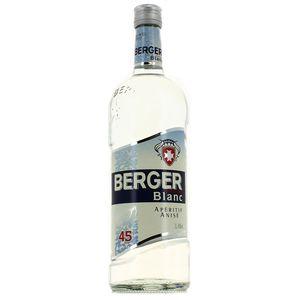 Berger Blanc Apéritif anisé 45°
