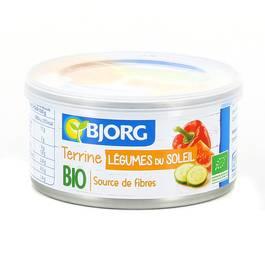 Bjorg Terrine Légumes du soleil Bio