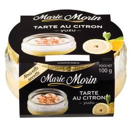 Marie Morin Tarte au Citron Yusu
