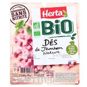 Herta Dés de Jambon Bio Nature