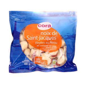 Cora Noix de Saint Jacques avec corail calibre 20/40