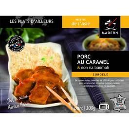 Madern Porc au caramel et son riz basmati